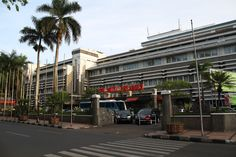 The Art-Deco-style Preanger Hotel.    The famous Preanger Hotel of Bandung, first built in the 1880s and subsequently redesigned with Art Deco flourishes in the 1920s by the famed architect, Professor Wolfe Shoemaker. The young Sukarno who was his student at the Technische Hogeschool (now Institut Teknologi Bandung), is believed to have assisted Shoemaker in the endeavour. The hotel was renovated again in the 1980s.- Bandung - Indonesia