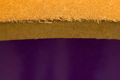 Purple and gold yellow-kitchen