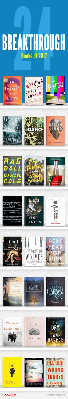 24 books to read 2017, including these great ideas for books to read next!