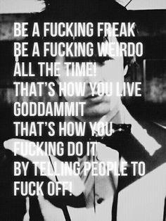 His words of wisdom