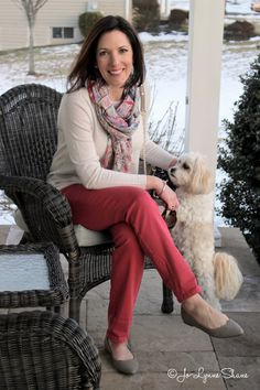 Fashion Over 40: Outfit ideas for Valentine's Day Dinner At Home featuring @jjillstyle #ad