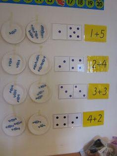 Open ideat: Hajotelmien harjoittelu Ks1 Maths, Math Boards, Math Numbers, Kids Learning Activities, Addition And Subtraction, Art For Kids, Classroom, Teaching, School