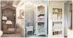 Fantastiche immagini in armadio shabby su armadio