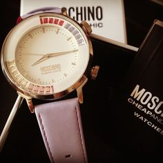 Photo by shmatova #moschino #cheapandchic #watch #mymoschino