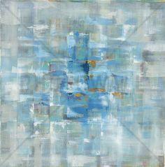 Abstract Squares - Canvas-taulut (maalaus) - Photowall