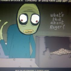 """OMG Salad Fingers. Haven't seen this in forever; so creepy. """"I like to touch rusty spoons..."""""""