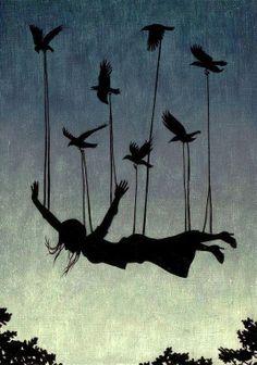 Arte: levitación  Autor desconocido