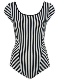 Miss Selfridge - Stripe Cap Sleeve Body