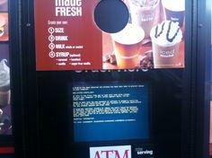 McDonalds Drive Thru gets the BSOD treatment. May 2010