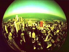 Looking down on Chi-Town Lomo style