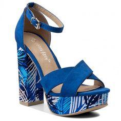 Sandały JENNY FAIRY - LS4039-01 Niebieski