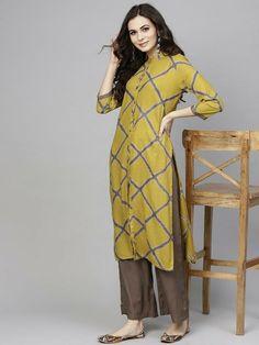 Indian Bollywood Designer cotton Kurta with Plazzo & Dupatta Tunic - KS79 #fashion #clothing #shoes #accessories #worldtraditionalclothing #indiapakistan (ebay link)