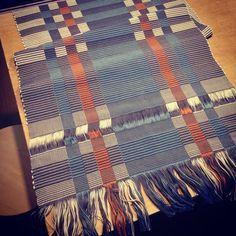 Rep Weave Kitchen Mat/手織り/マット/textile/テキスタイル