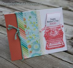 Create by the Lake : April Cross Canada Hop #Blossom #PaperFundamentals #Adventure
