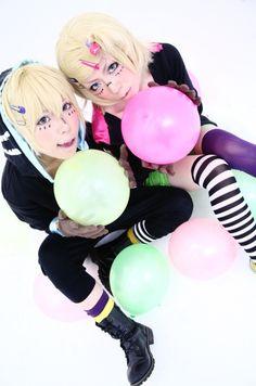 Rin And Len Kagamine Cosplay | ... len by natsukintoki tags vocaloid kagamine len kagamine rin cosplay