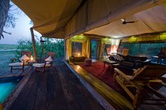Luxury African Safari Tent - Zibadianja Camp, Botswana