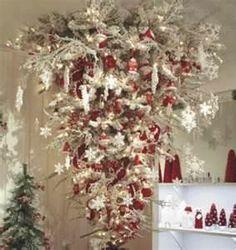 .upside down Christmas tree