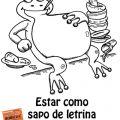 COMO SAPO DE LETRINA: Puerto Rican Spanish Slang Expression