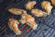 Peanut Butter and Jelly Grilled Chicken Wing Recipe - Grilling24x7.com