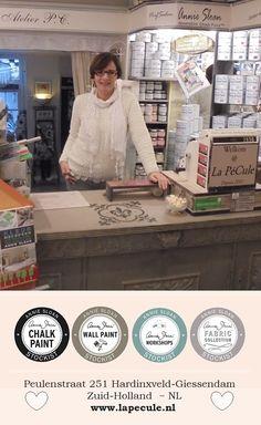 Maart 2016: M'n allessie: m'n Winkeltje <3 #LaPéCule #VerfSalon #AnnieSloanChalkPaint™
