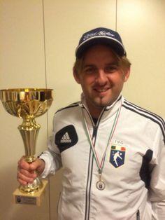 Andrea Lombardi Campione del 2 Tirrenia Footgolf Trophy del 16 novembre 2013