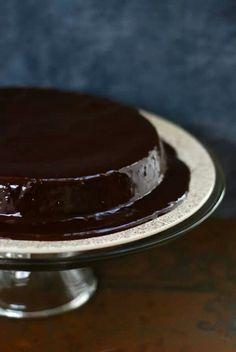 Flourless chocolate espresso torte