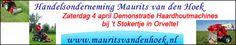 Banner veranderd voor Handelsonderneming Maurits van den Hoek.  Voor de echte houtstokers zal Handelsonderneming Maurits van den Hoek uit Hoogersmilde op Paaszaterdag een demonstratie geven van houtverwerking bij 't Stokertje. Hout 'knippen', kloven en zagen..... met de machines van Maurits gaat dat een stuk sneller en eenvoudiger! http://koopplein.nl/middendrenthe/5102612/haardhout-machine-brandhout-machine-demonstratie-4april.html