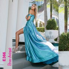 That winter blue is treatable with this long blue off the shoulder prom dress in style by Nox Anabel 🧐💕💧❄️ Winter Blue, Blue Dresses, Formal Dresses, Prom Dress Shopping, Metallic Blue, Pageant, Homecoming Dresses, Evening Gowns, Off The Shoulder
