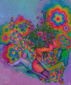 Artist flower