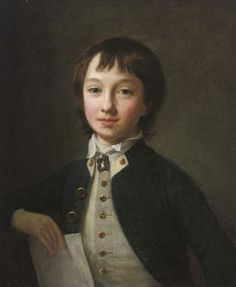 Portrait of a midshipman, believed to be Admiral Sir William Sidney Smith as a boy