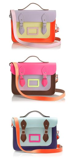 The Cambridge Satchel - Colorful