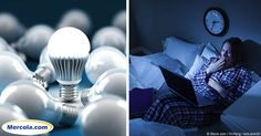 Blue LED lighting is popular for energy efficiency and brightness, but it has detrimental effects on human biology. http://articles.mercola.com/sites/articles/archive/2016/12/01/blue-leds-confuse-brain.aspx