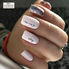 Cute and Beautiful Glitter Nail Designs Ideas For Summer Part glitter nail art; glitter nails acrylic Nails Cute and Beautiful Glitter Nail Designs Ideas For Summer Part 14 Cute Nail Colors, Cute Nails, Cute Nail Art Designs, Nail Polish Designs, La Colors Nail Polish, Neutral Nail Designs, Manicure Colors, Color Nails, Neutral Nails