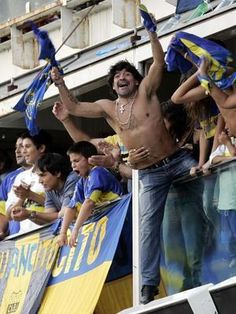 Maradonna en mode Ultras !