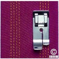 Find the right Sewing Machine for you: Straight Stitch Foot - Elna Straight Stitch, Learn To Sew, Sewing Hacks, Embroidery Stitches, Patches, Pattern, Shop, Accessories, Vestidos