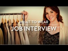 How to Dress For Every Job Interview! - YouTube