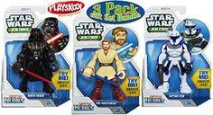 Playskool Heroes Star Wars Jedi Force Darth Vader, Obi-Wan Kenobi & Captain Rex Figures Gift Set Bundle - 3 Pack Playskool http://smile.amazon.com/dp/B00QQQO57Q/ref=cm_sw_r_pi_dp_uoqIub1TS52KG