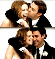 Jim and Pam. :)