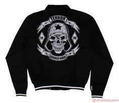 Terror Harrington Jacket Let The War Begin (Black) | 815-100-050