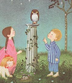 Gyo Fujikawa (1908 -1998) - A Child's Garden Verses by Robert Louis Stevenson 1957