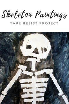 Tape Resist Skeleton