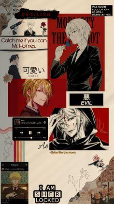 Future Wallpaper, Mood Wallpaper, Sky Anime, Anime Guys, Manhwa, Sherlock Holmes, James Moriarty, Sailor Moon Fan Art, Fantasy Art Men