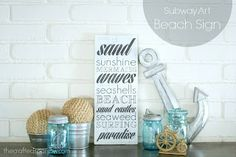 25 Beachy Crafts - Do Small Things with Love