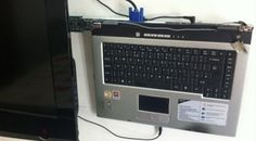 Turn Your Old Laptop Into a DIY Hideaway Media Center for TV: LOVE this idea for when a laptop dies!