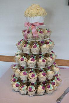 * Cupcake Wedding Cake * Cupcake Towers * Wedding Cupcakes* Kent, London, Surrey, East Sussex, Essex - Wedding Cakes in Kent, Essex & Medway | letthemeatcakesuk.com