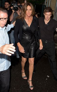 Lady in Leather from Caitlyn Jenner's Best Pics
