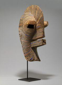 Songye Kifwebe Mask, DRC