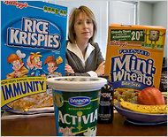 Food With Benefits, or So They Say, NYT - Critical look at nutrition labels.