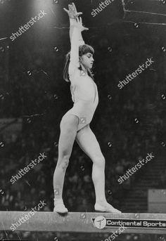 Gymnastics Pictures, Gymnastics Girls, Nadia Comaneci 1976, Latex Swimsuit, Sport, Olympics, Superstar, Editorial, Poses