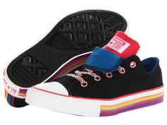 Converse Kids Chuck Taylor® All Star® Double Tongue Ox (Toddler/Youth)